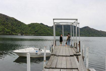 中禅寺湖モーターボート乗り場